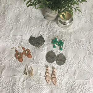 Bundle 6 Pairs Earrings